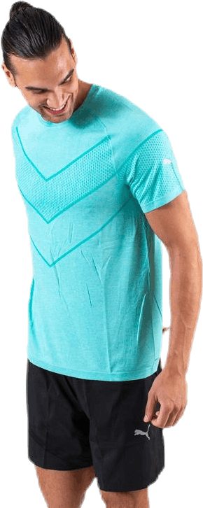 Reactive evoKNIT Tee Turquoise