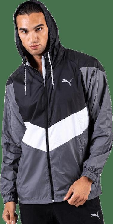 Reactive Woven jacket White/Black