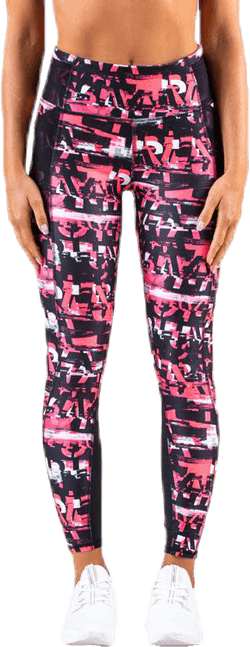 Be Bold 7/8 Tight Pink/Patterned