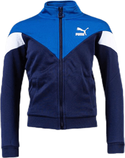Iconic MCS Track Jacket Jr Blue