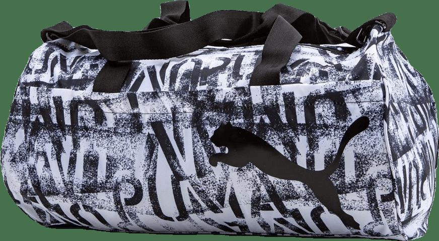 ESS Barrel Bag White/Black