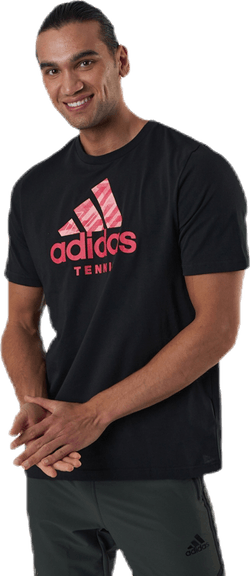 Short Sleeve Tee Tennis Black