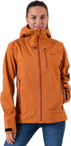 Parley Three-Layer Jacket Orange