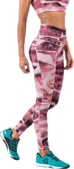 Lux Bold High Rise Pink/White
