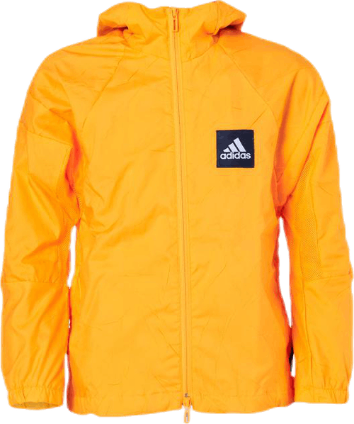 Prime Blue Recycled Wind Jacket Yellow
