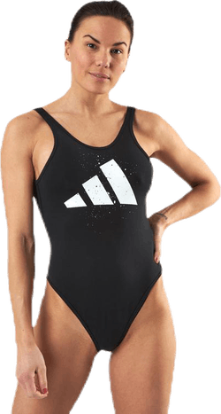 Graph Leotard Black
