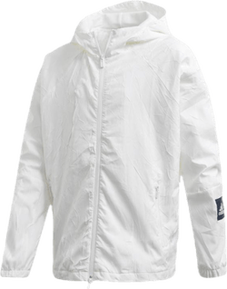 Prime Blue Recycled Wind Jacket White