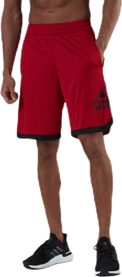 Badge of Sport Shorts Red
