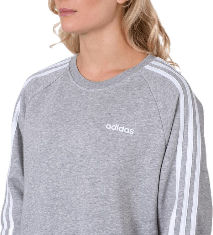 Essential Bf Crew White/Grey