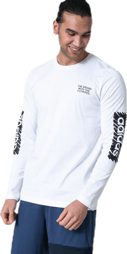 Scrbl Ls T White/Black
