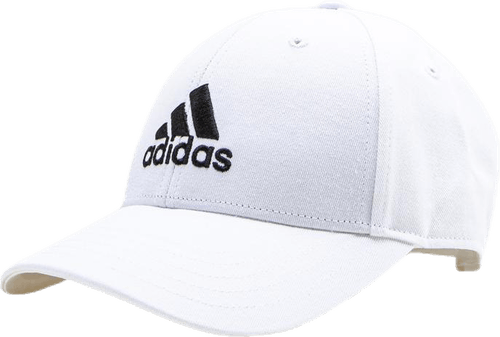 Baseball Cap Cotton White