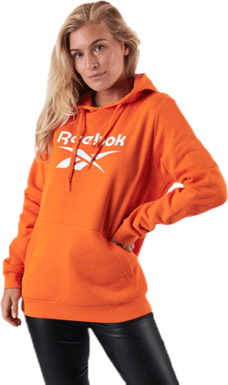 Cl F Big Logo Hoodie Ft Orange
