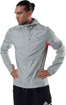 Own The Run Jacket Grey