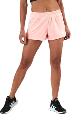 Pacer 3-Stripes Knit Shorts Pink