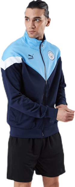 MCFC Iconic MCS Track Jacket Blue/Green