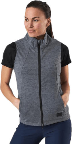 Warm Up Vest Black