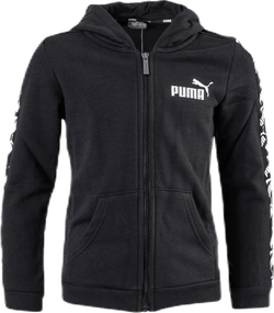 Amplified Hooded Jacket TR B Black