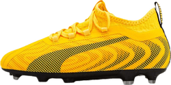 Puma One 20.2 FG/AG Jr Black/Yellow