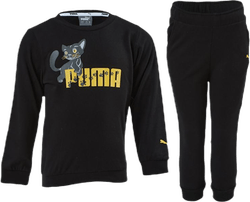 Animals Crew Jogger Black
