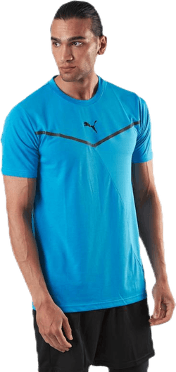 Train Thermo R+ BND Short Sleeve Tee Blue