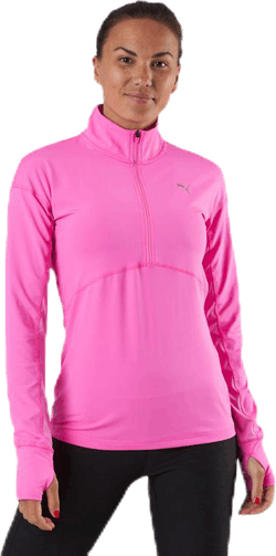 Ignite 1/4 Zip Pink