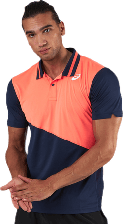 Club Padel Polo Shirt Pink/Blue