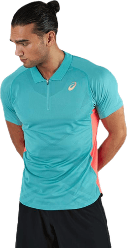 Tennis Polo Shirt Blue