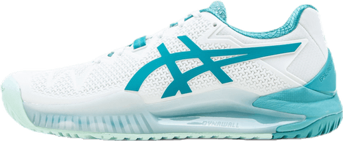 Gel-Resolution 8 White/Turquoise