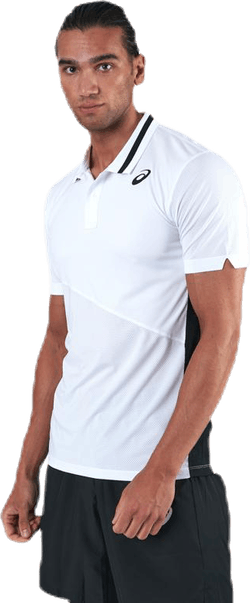 Club Padel Polo Shirt White