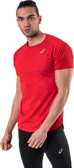Tennis SS Tee Red