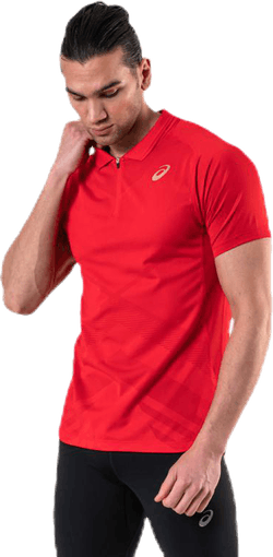 Tennis Polo Shirt Red