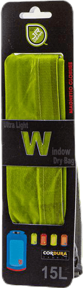 Ultra Light Window Dry Bag 15L Green
