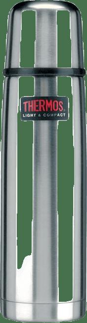 Ståltermos 0,5 L Grey