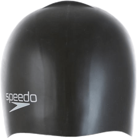 Speedo Silicon Moulded Cap Jr Black