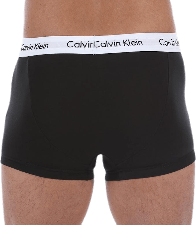 Low Rise Trunk 3-Pack Black
