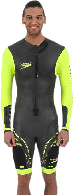 Fastskin Swimrun Male Suit Black/Yellow