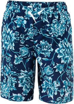"Forestfield Printed Leisure 17"" Watershort Blue"