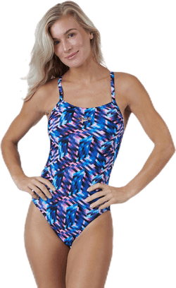 Sunset Samba Digital Rippleback Blue/Purple