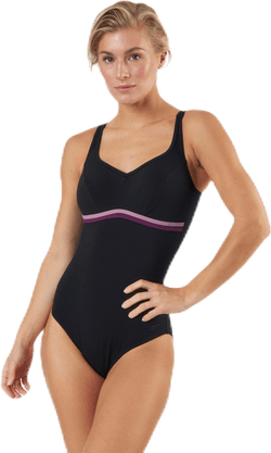 Speedosculpture Contourluxe 1 Piece Pink/Black
