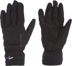 Women's Sea Leopard Glove Black