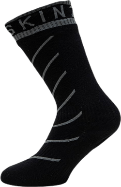 Warm Weather Mid Sock Hydrostop Black/Grey