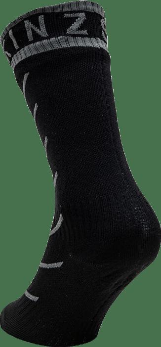 Warm Weather Mid Sock Hydrostop Black/Grey