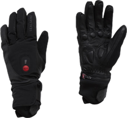 Heated Cycle Glove Black