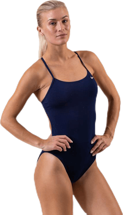 Cut-Out One Piece Blue