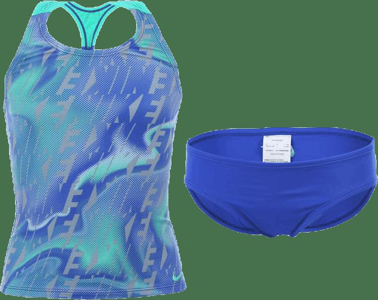 Racerback Sport Tankini Set Blue