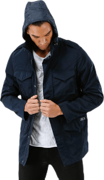 Yarra Memory Car Jacket Blue