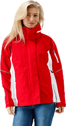 Sail Jacket 2.0 White/Red