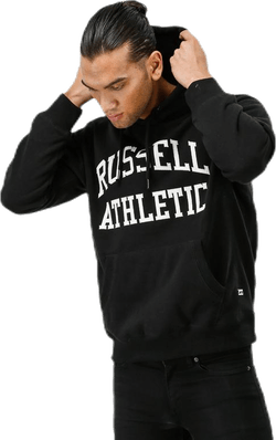 Pull Over Tackle Twill Hoody Black