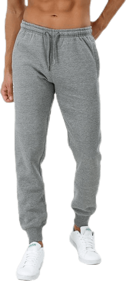 Seamless Flock Printed Cuffed Pant Grey