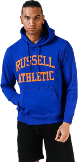 Iconic Twill Hoodie Blue